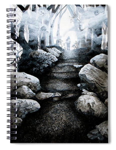 Soul Journey Spiral Notebook