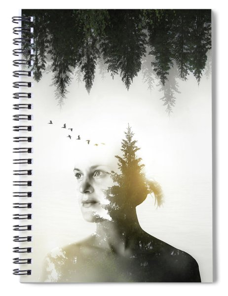 Soul Of Nature Spiral Notebook