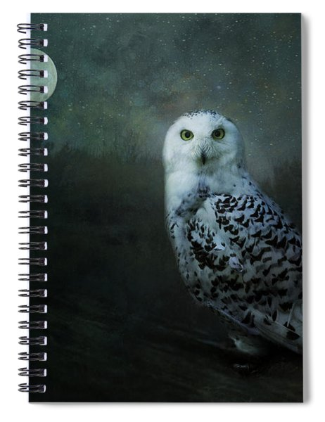 Soul Of The Moon Spiral Notebook