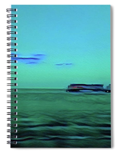 Sound Of A Train In The Distance Spiral Notebook