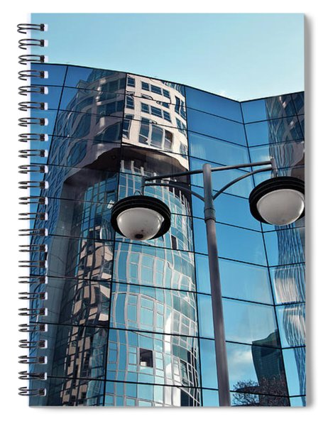 Sound Of Glass Spiral Notebook