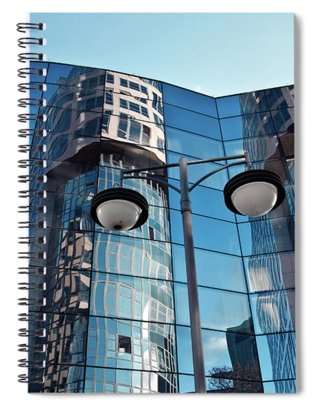 Sound Of Glass Spiral Notebook