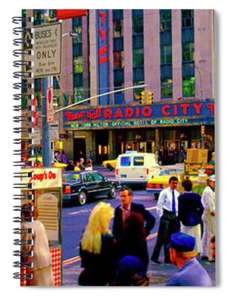 Soups On Radio City Music Hall  Spiral Notebook