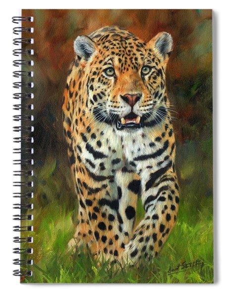 South American Jaguar Spiral Notebook