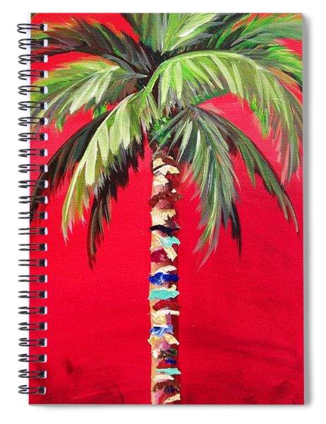 South Beach Palm II Spiral Notebook