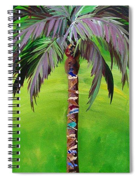 South Beach Palm IIi Spiral Notebook