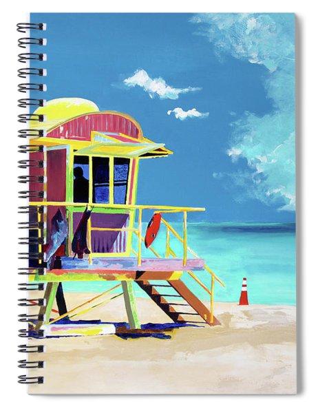 South Beach Spiral Notebook