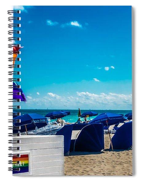 South Beach Pride Spiral Notebook
