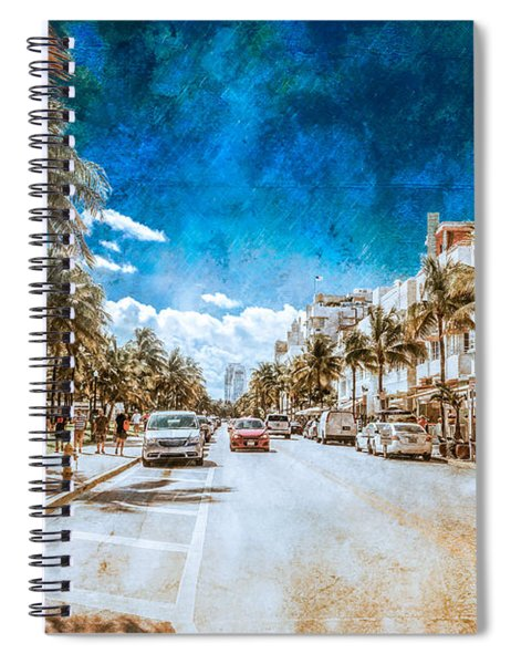 South Beach Road Spiral Notebook
