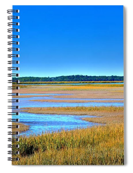 South Carolina Lowcountry H D R Spiral Notebook