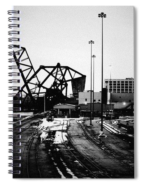 South Loop Railroad Bridge Spiral Notebook