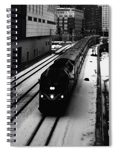 South Loop Railroad Spiral Notebook