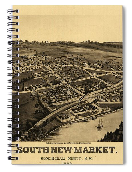 South-new-market, Rockingham County, N.h. Spiral Notebook