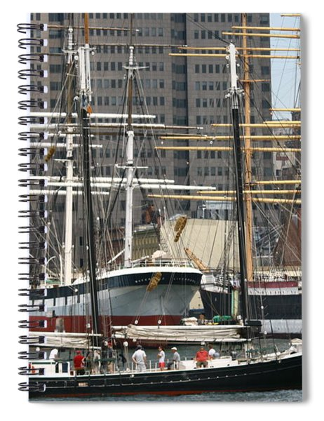 South Street Seaport Pioneer Spiral Notebook
