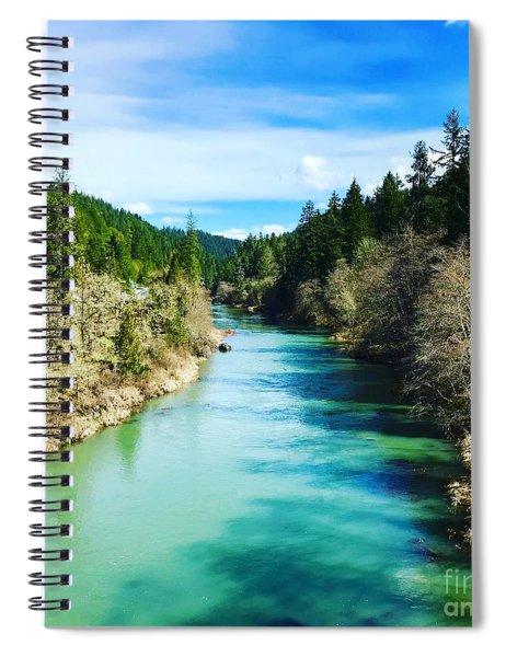 South Umpqua River Oregon  Spiral Notebook
