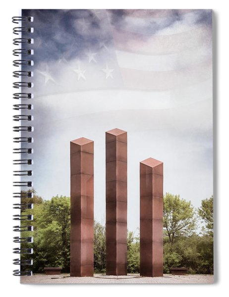 Southeastern Wisconsin Vietnam Veterans Memorial Spiral Notebook