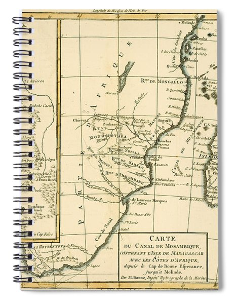 Southern Africa Spiral Notebook