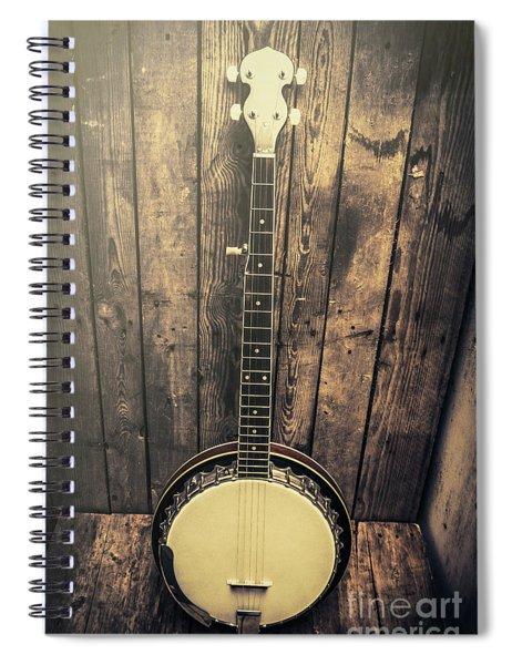 Southern Bluegrass Music Spiral Notebook