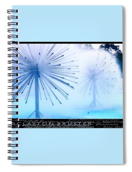 Southern California Fountains Spiral Notebook