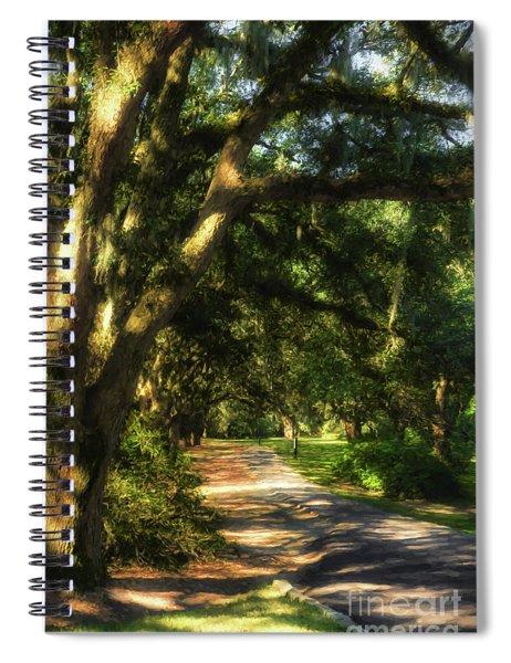 Southern Sunshine Spiral Notebook