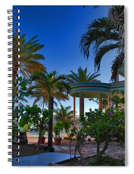 Southernmost Lush Garden In Key West Spiral Notebook
