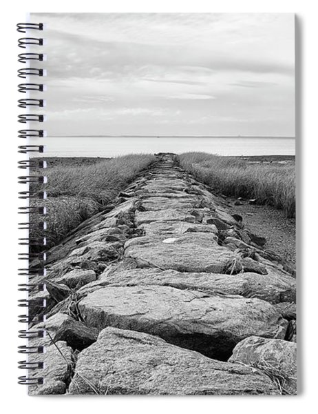 Southport Beach Jetty Spiral Notebook
