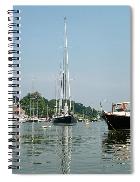 Southport Harbor Yachts Spiral Notebook