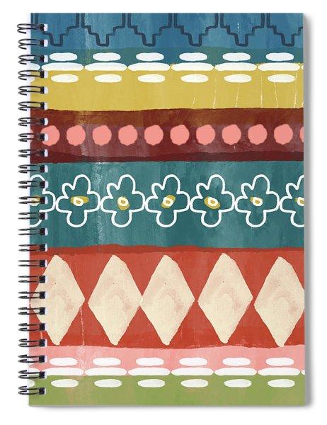 Southwest 3- Art By Linda Woods Spiral Notebook by Linda Woods