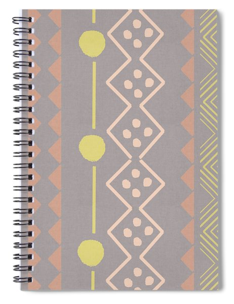 Southwest Decorative Design 7- Art By Linda Woods Spiral Notebook