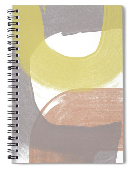 Southwest Modern Brushstrokes 2- Abstract Art By Linda Woods Spiral Notebook