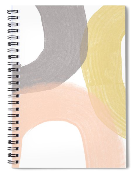 Southwest Modern Brushstrokes - Abstract Art By Linda Woods Spiral Notebook