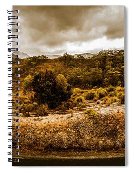 Southwest National Park Tasmania Spiral Notebook
