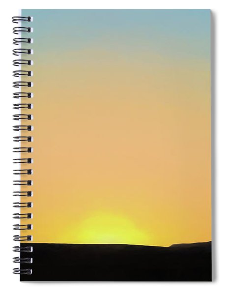 Southwestern Sunset Spiral Notebook