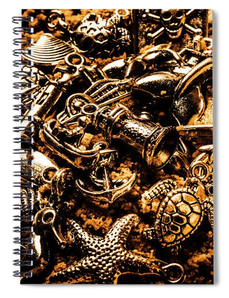 Souvenirs From Sandy Sea Tours Spiral Notebook
