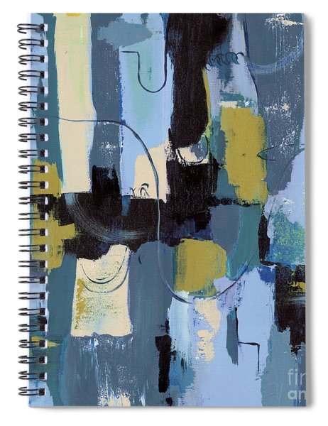 Spa Abstract 2 Spiral Notebook