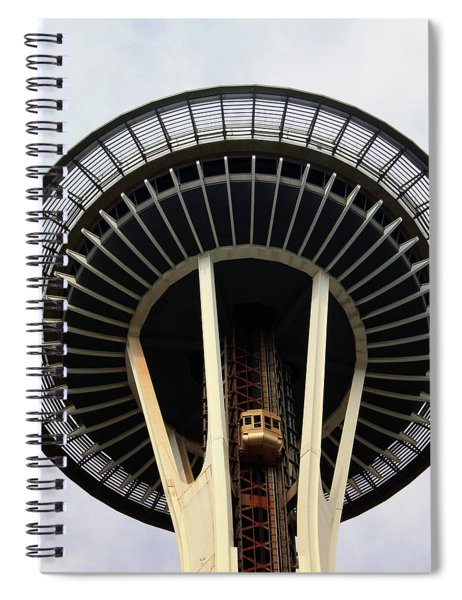 Space Needle- By Linda Woods Spiral Notebook