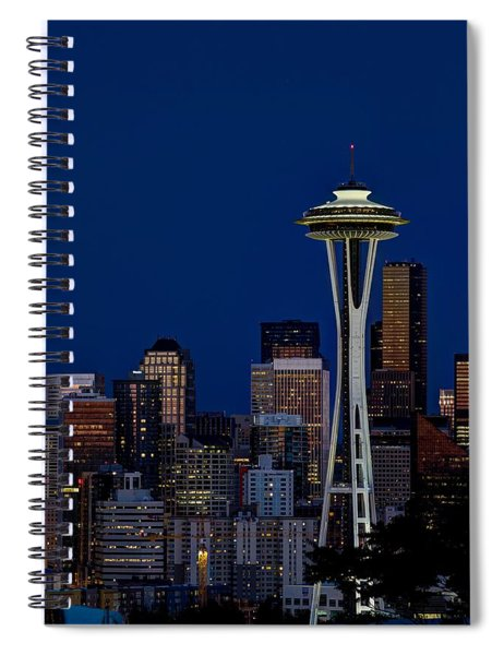 Space Needle Spiral Notebook