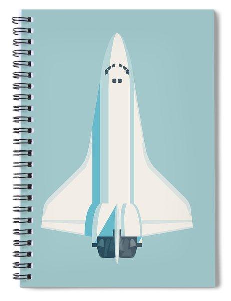 Space Shuttle Spacecraft - Sky Spiral Notebook