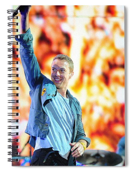 Coldplay4 Spiral Notebook