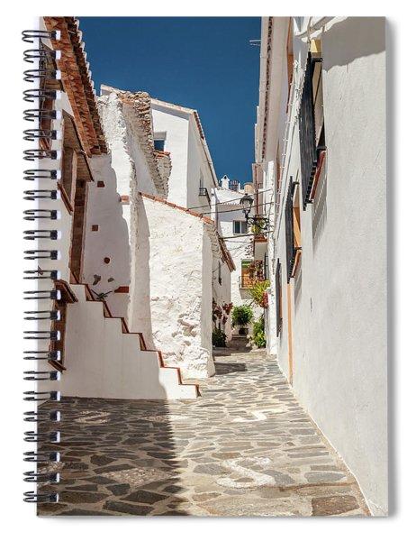 Spanish Street 1 Spiral Notebook
