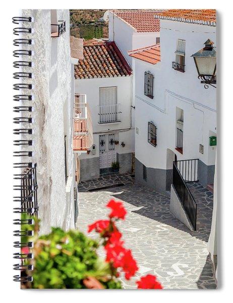 Spanish Street 3 Spiral Notebook