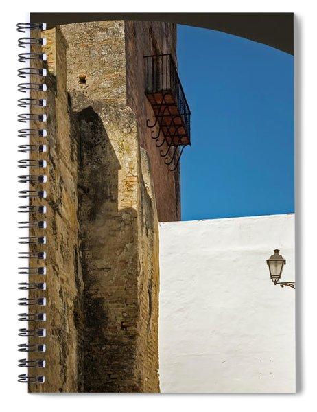 Spanish Street Spiral Notebook