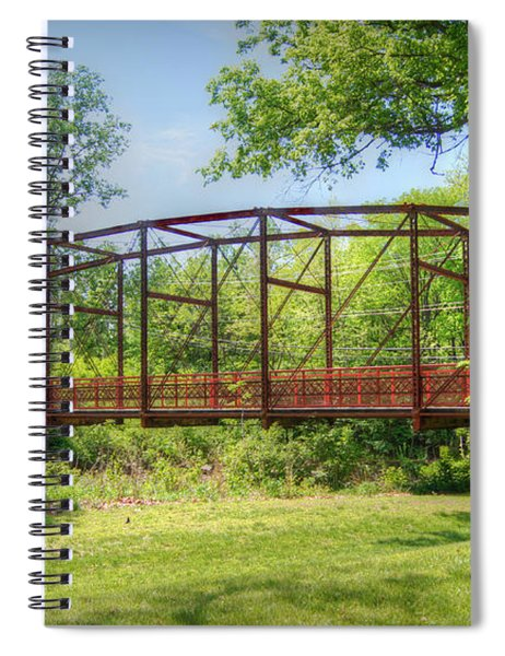 Spanning Time Spiral Notebook