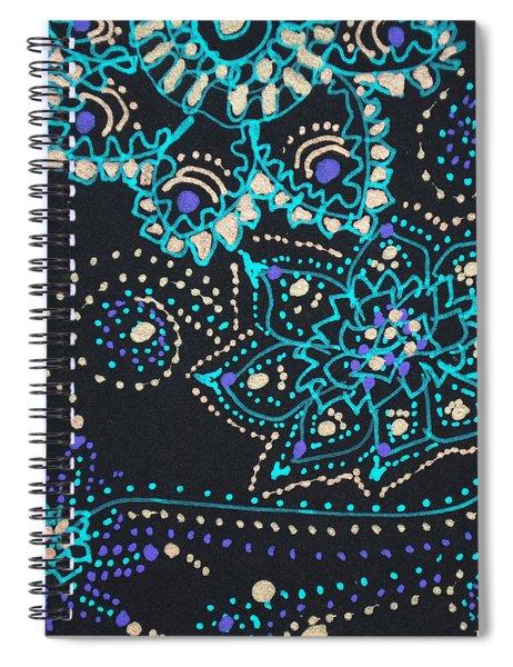 Midnite Sparkle Spiral Notebook