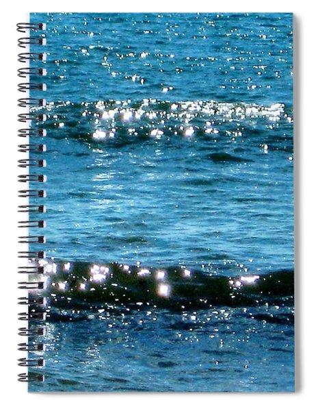 Sparkle Waves  Spiral Notebook