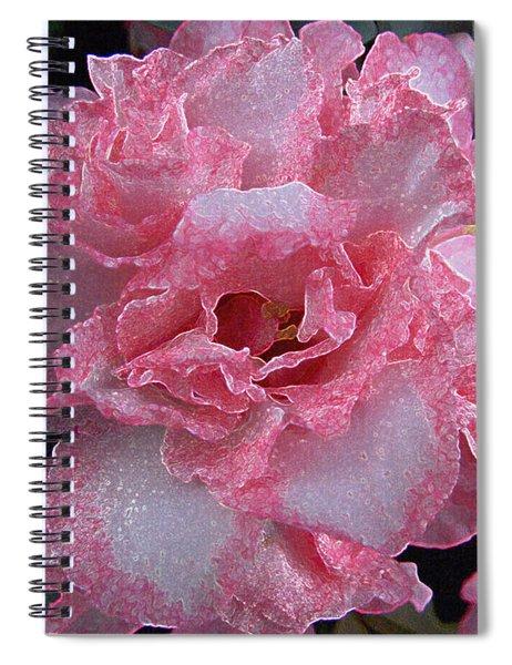 Sparkly Azalea Spiral Notebook