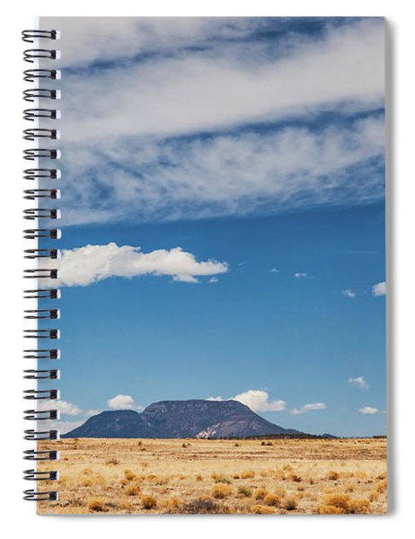 Sparse Spiral Notebook by Rick Furmanek