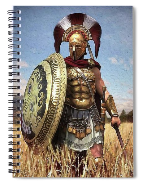 Spartan Hoplite - 02 Spiral Notebook