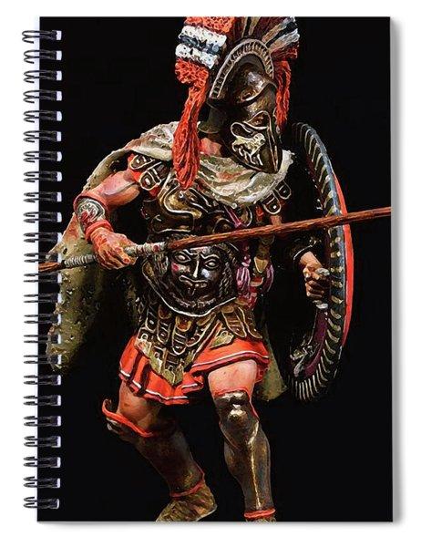 Spartan Hoplite - 05 Spiral Notebook