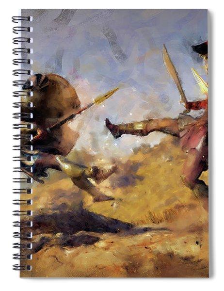 Spartan Hoplite - 12 Spiral Notebook